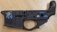 Spikes Tactical Lower Receiver Snowflake Color Fill