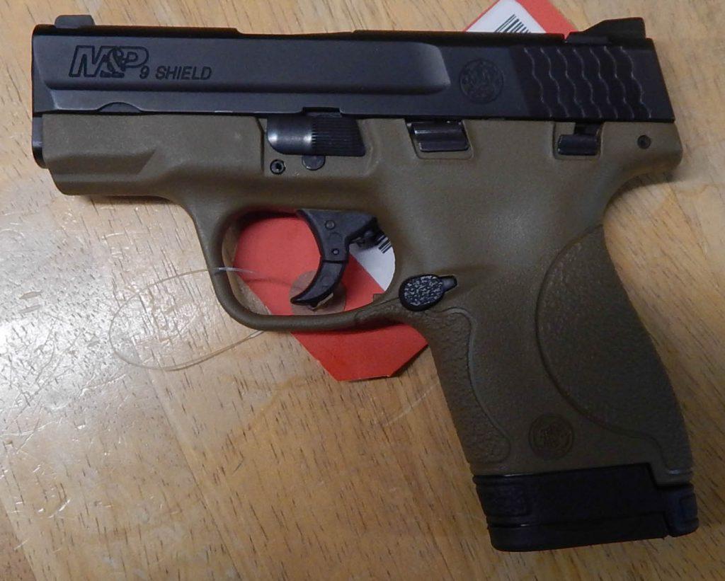 Smith & Wesson M&P Shield 3.125 9MM
