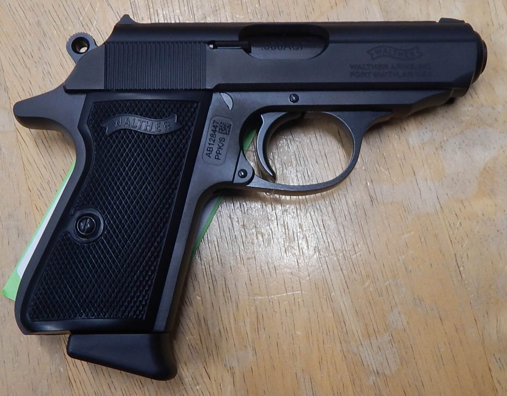Walther PPK/S 3.3 .380ACP