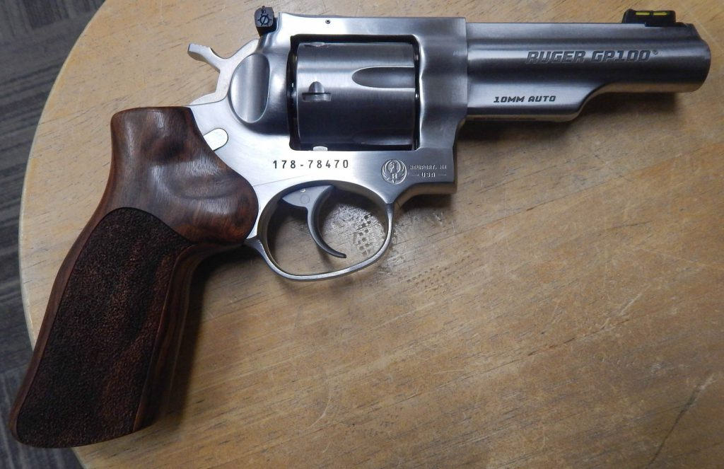Ruger GP-100 Match 4.2