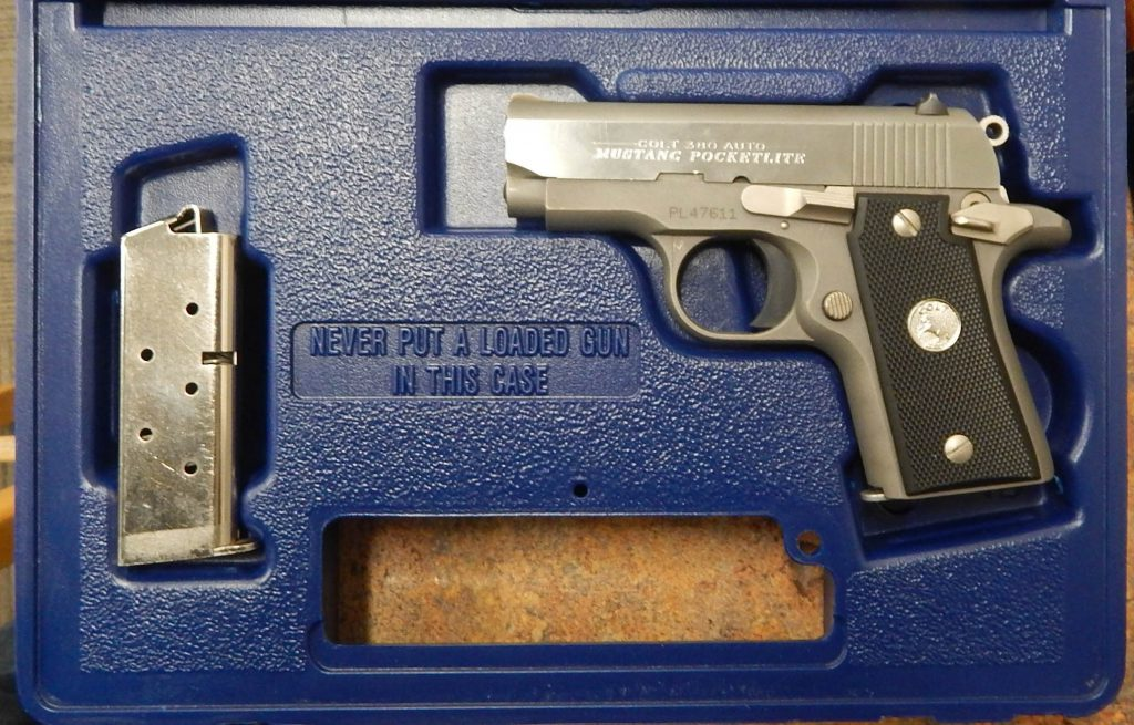 Colt Pocketlite 2.75 .380ACP