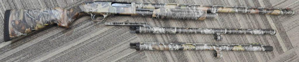Mossberg 535 3 barrels 12 GA 3.5