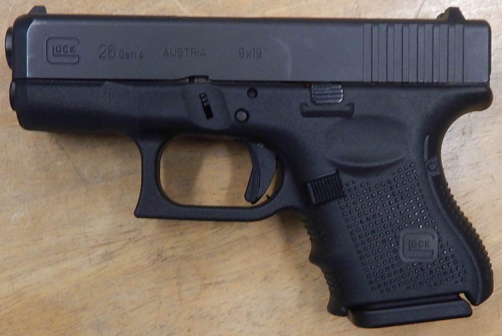 Glock 26 3.125 9MM Gen 4
