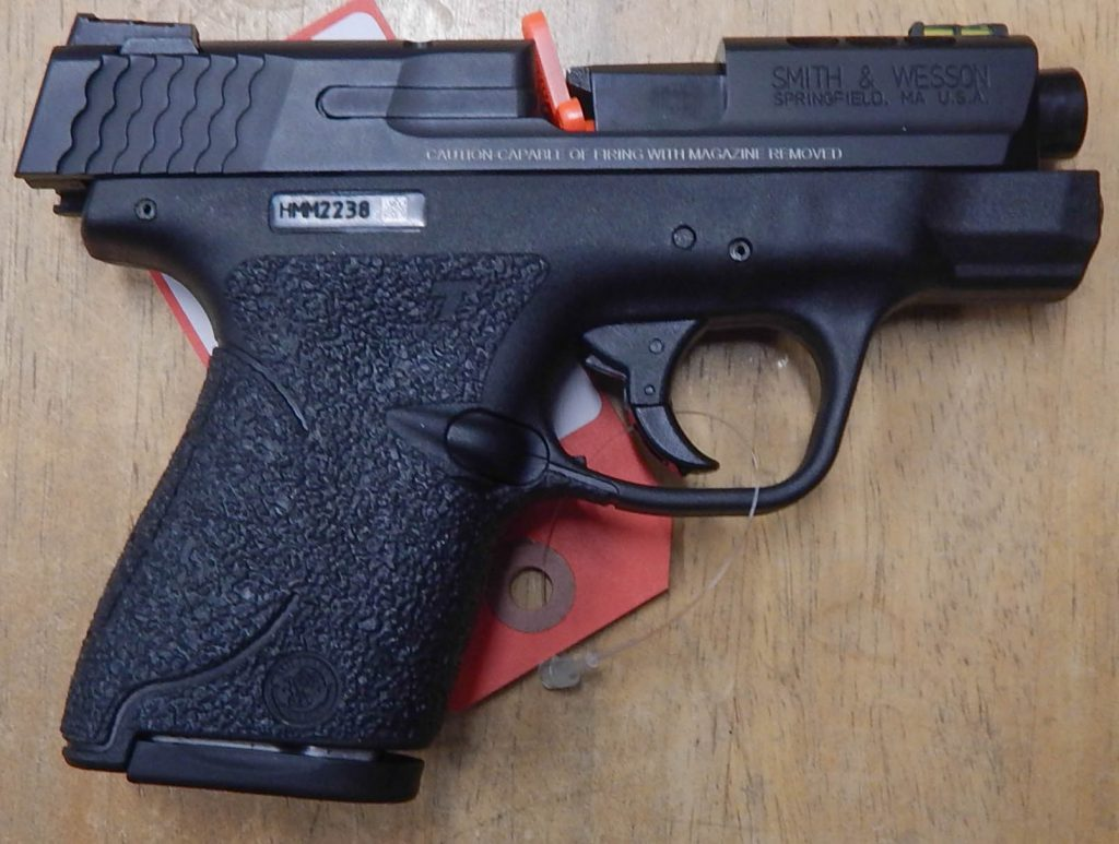 Smith & Wesson M&P Performance Center Shield 3.1 .40S&W Ported