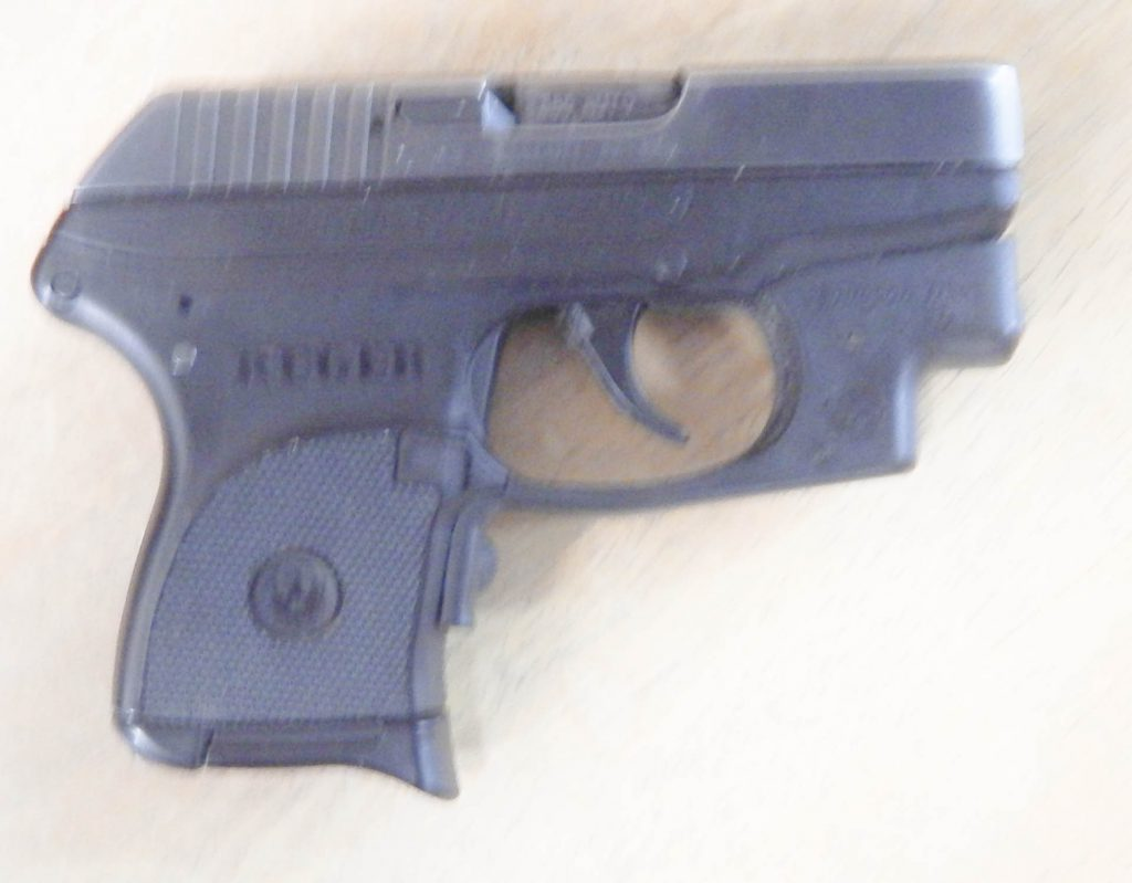 Ruger LCP w/Crimson Trace Laser