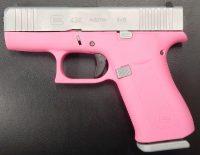Glock 43X 3.4 9MM Prison Pink