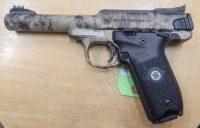 Smith & Wesson Victory 5.5 .22LR Kryptek