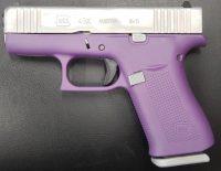 Glock 43X 3.4 9MM Purple