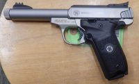 Smith & Wesson Victory 5.5 .22LR Threaded