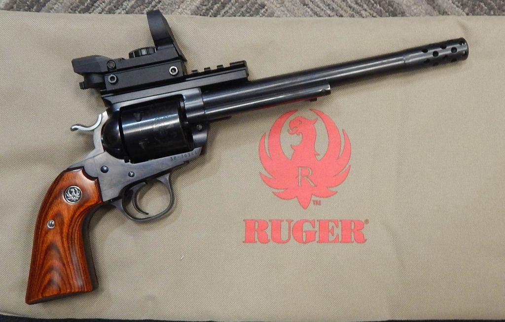 Ruger Blackhawk 9 .45LC Red Dot
