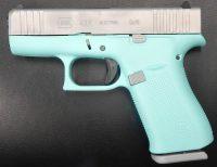 Glock 43X 3.4 9MM Robin Egg Blue