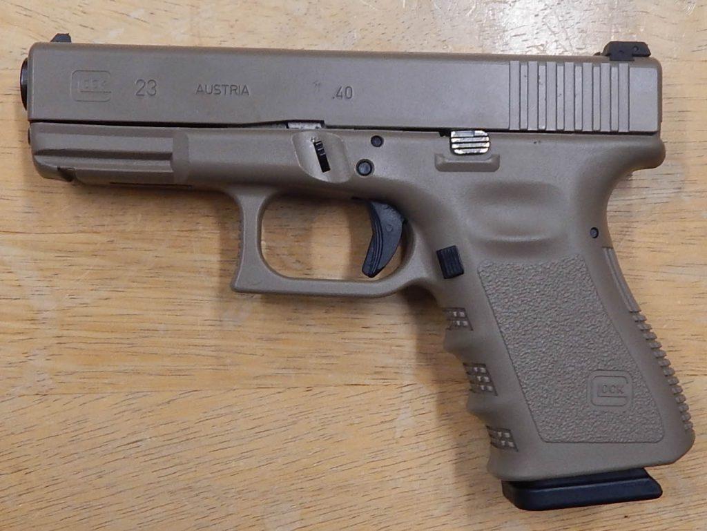 Glock 23 4 .40S&W FDE Cerakote