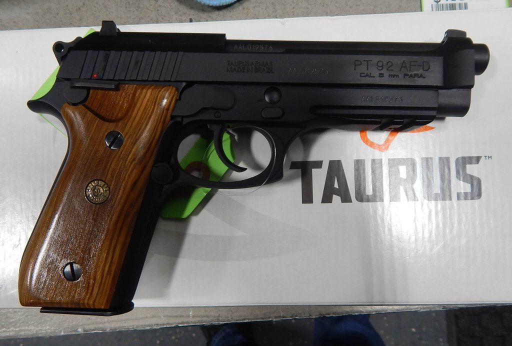 Taurus PT92 5 9MM Wood Grips