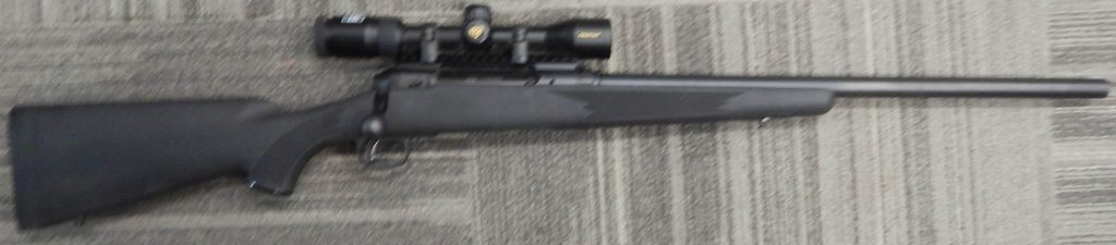 Savage 220 22 20GA Nikon Slughunter Scope