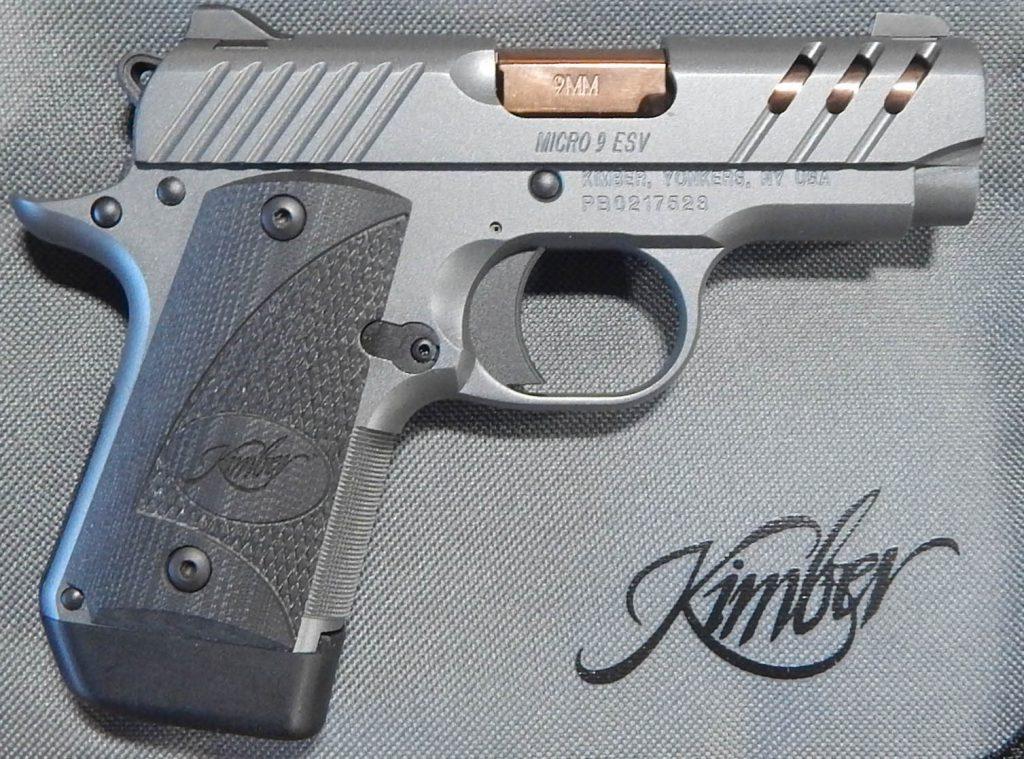Kimber Micro 9 ESV 3 9MM
