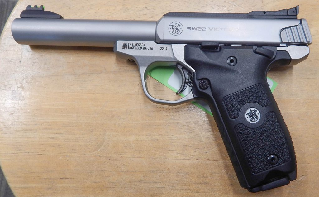 Smith & Wesson Victory 5.5 .22LR