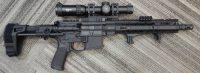 Primary Weapons Systems MK1 14 5.56 w/1-6x Vortex & Maxim Arm Brace
