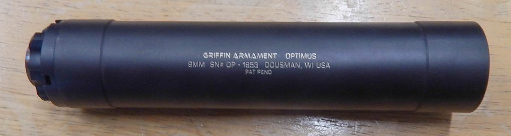 Griffin Armament Optimus 9.4 9MM