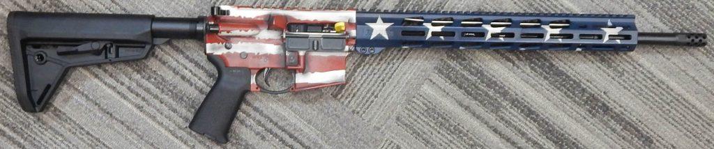 Ruger AR556 18 5.56 American Flag