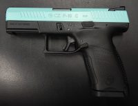 CZ P-10 C 4 9MM Robin Egg Blue