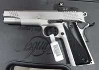 Kimber 1911 Custom Stainless Lightweight 5 .45ACP w/Vortex Red Dot