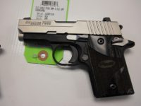 Sig Sauer P938 3in 9mm blackwood doutone