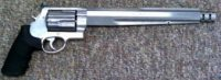 Smith & Wesson .460sw performance center 10.5in ported stainless steel