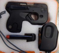 Taurus Curve .380acp with Viridian laser, light and holster