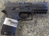 Sig Sauer P320 9mm compact with night sights 3.9in