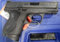 Smith & Wesson M&P 9mm compact 3.5in with Crimson Trace grips