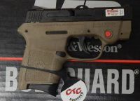 Smith & Wesson Body Guard .380acp 2.75in FDE frame and Crimson Trace laser 10168