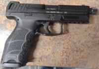 Heckler & Koch VP9 4.7in threaded barrel with night sight and 3 mags
