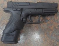 Springfield Armory XD 4in .40sw with Crimson Trace laser grip