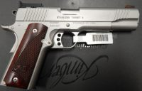Kimber Stainless Target II .45acp 5in with adjustable target sights 3200325