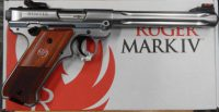 Ruger Mark IV Hunter .22lr stainless steel 6 7/8in 40118
