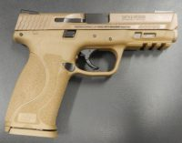 Smith & Wesson m&p 2.0 9mm 4.25in FDE with TFX night sights11767