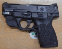 Smith & Wesson M&P Shield 2.0 .45acp 3.3in with Crimson green laser 11881