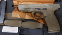 Smith & Wesson M&P 2.0 4.25in 9mm full FDE with night sights