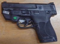 Smith & Wesson M&P Shield 2.0 9mm 3.125in with green laser 11901