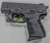 Springfield Armory XDE 9mm 3.3in with laser