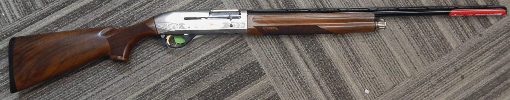 Benelli Montefeltro Silver 20 gauge 26in engraved 10855