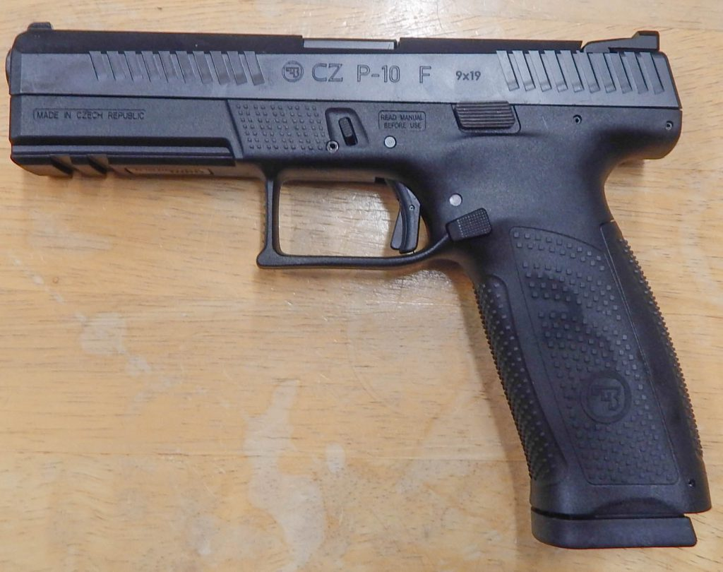 CZ P-10 F full size 9mm 4.5