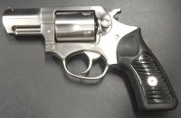 Ruger SP101 stainless steel 2