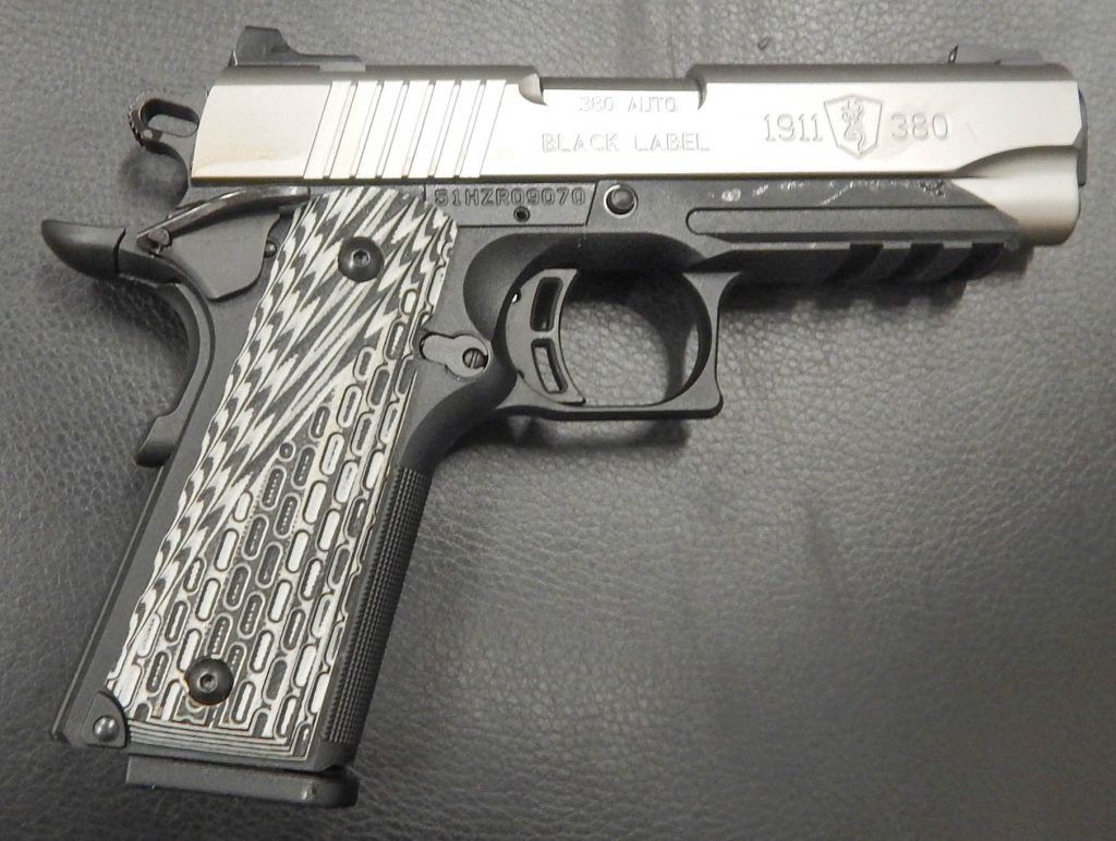 Browning 1911-380 Black Laberl 3.625