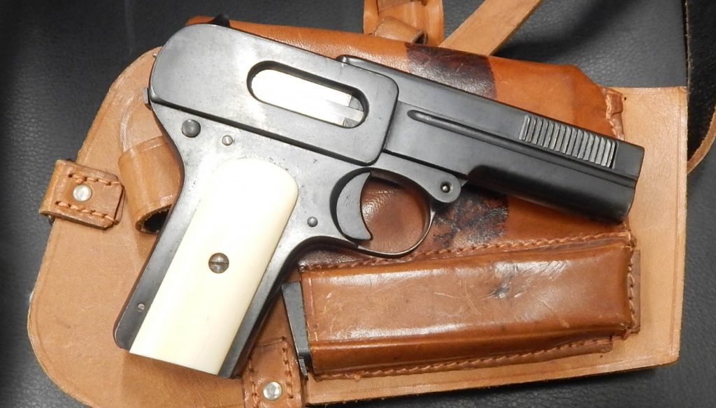 Dryse 1907 7.65mm with holster