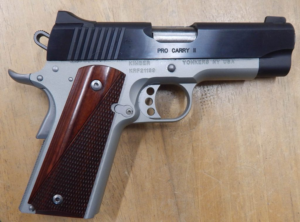 KIMBER PRO CARRY II 9MM TWO TONE 1139