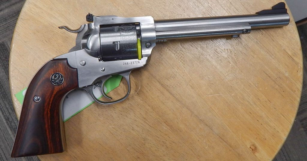Ruger Single Six Bisley stainless steel .22lr 6.5