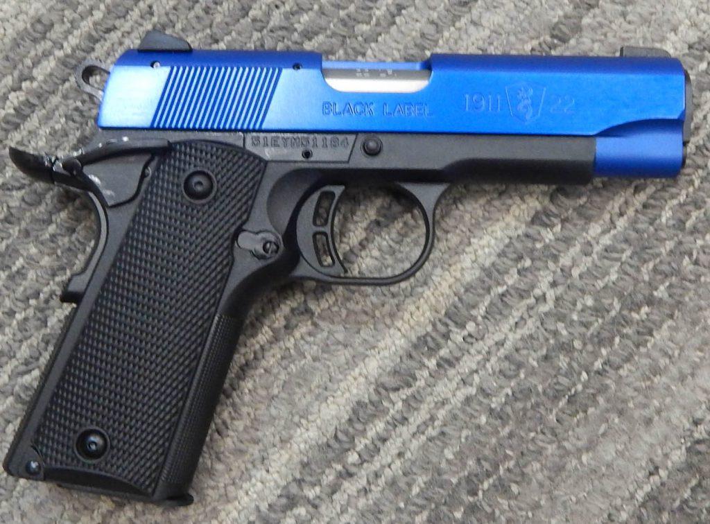 Browning 1911-22 4.25 .22LR
