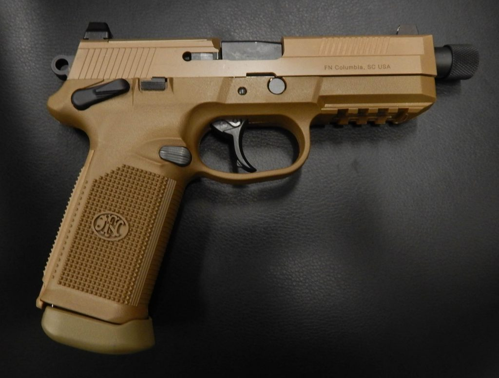 FN FNX 45 TACTICAL 5.3 .45ACP FDE