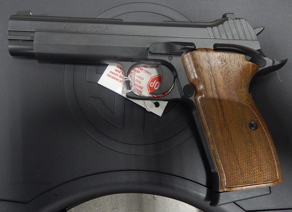Sig Sauer P210 5 9mm   P210-9-B